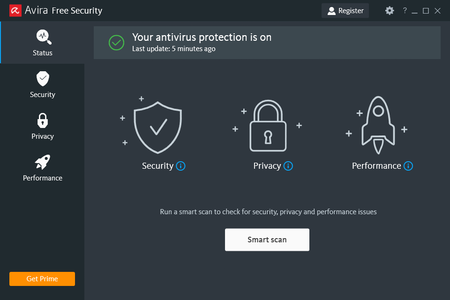 تحميل برنامج Avira Free Security Suite